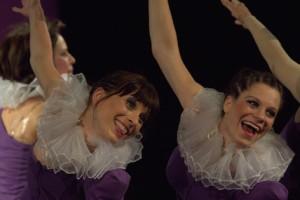 "Das Tanz-Theater-Ensemble ""undada""  aus Berlin"