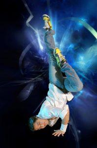 Daman Arora in der Tanzschule Balance Arts