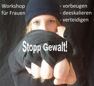 """""""Fass mich nicht an – Stopp Gewalt"""" für Frauen und Mädchen"""